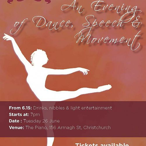 An Evening of Dance, Speech & Movement