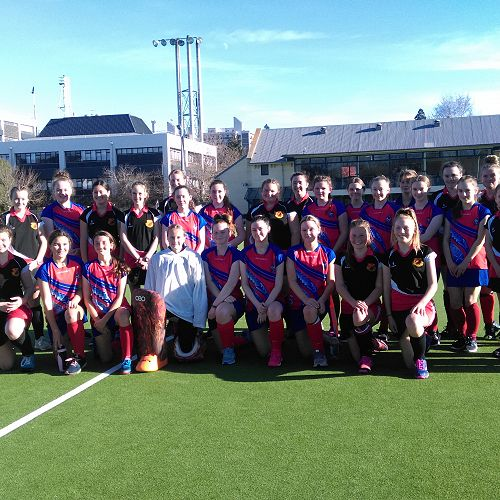 Waitaki and Queen's Interchange Hockey Teams
