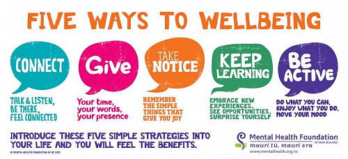 Wellbeing at RHS - August 2017 Newsletter