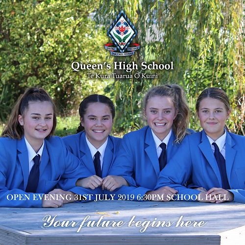Open Evening 31st July 6:30pm