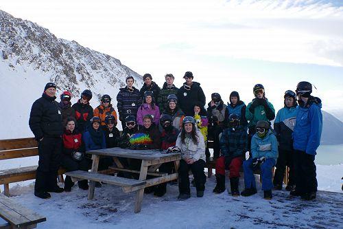 Year 12 PE Snowboarding Trip