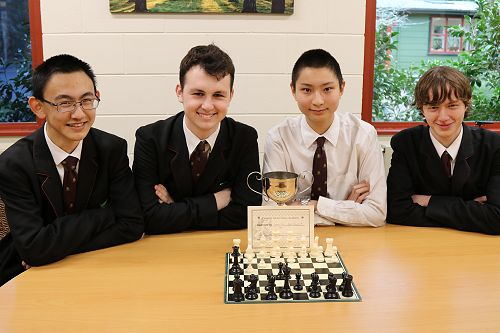Otago Secondary Schools Chess Winners