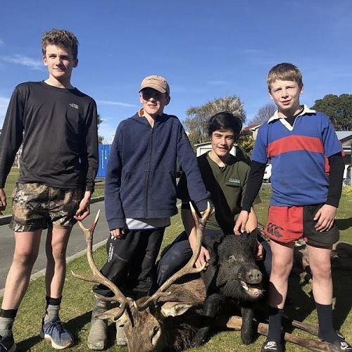 Inaugural Toby Hope Hunting Competition