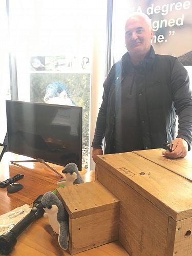 Hoani Langsbury using sensor technology to save ou