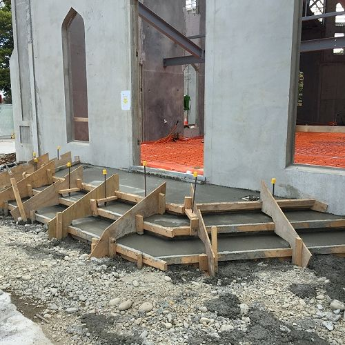 Rebuild Chapel Stairs