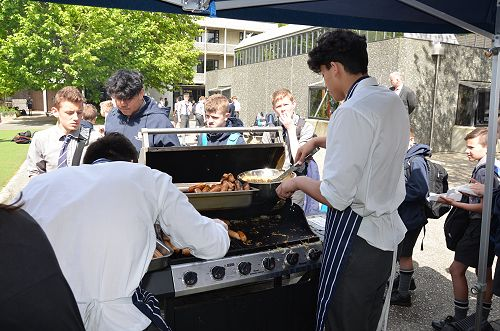 School Council Sausage Sizzle