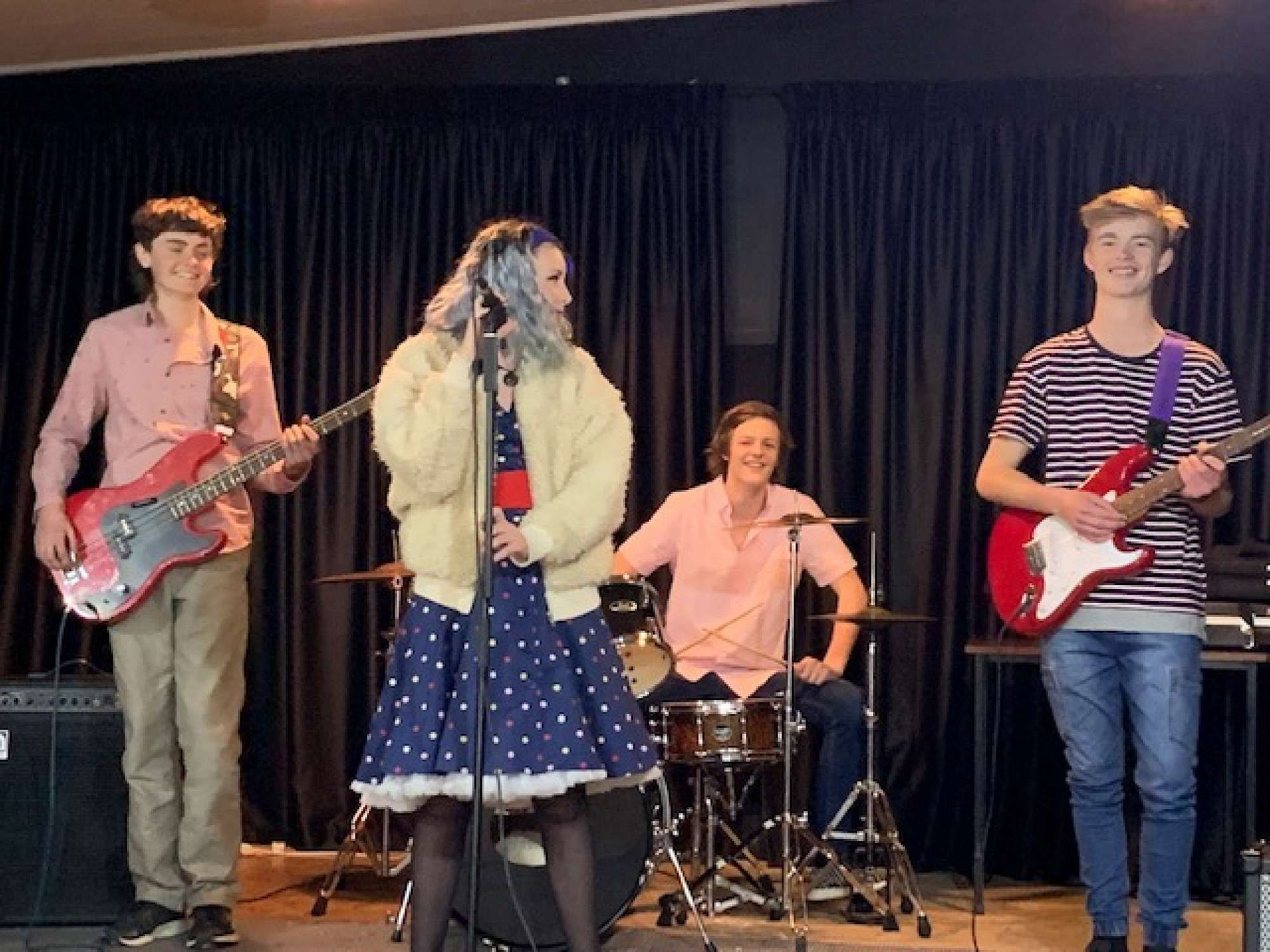 Curb Appeal entertaining at the Timaru Town and Co