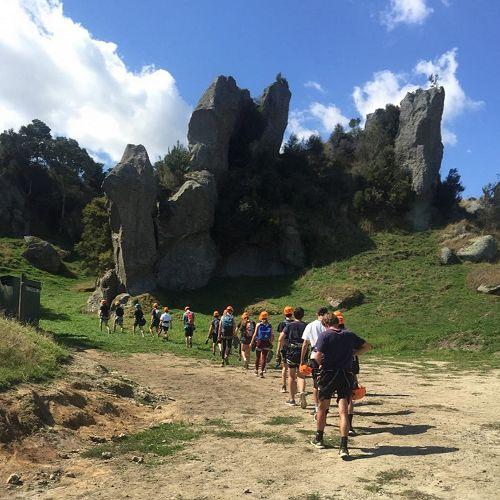 Outdoor Education - Rock Climbing