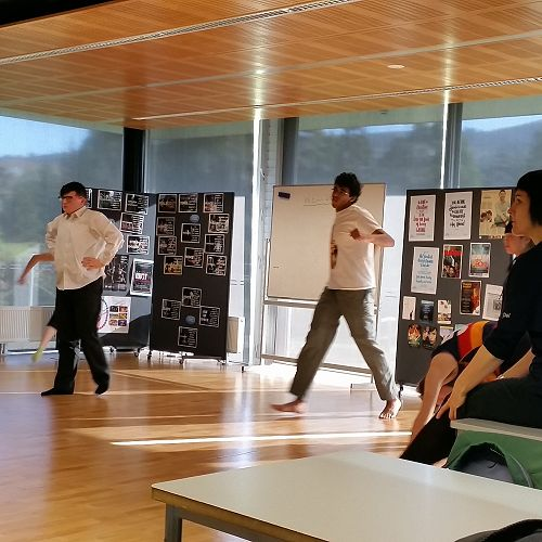 RNZB visit term #2 - with the Year 13 Drama class