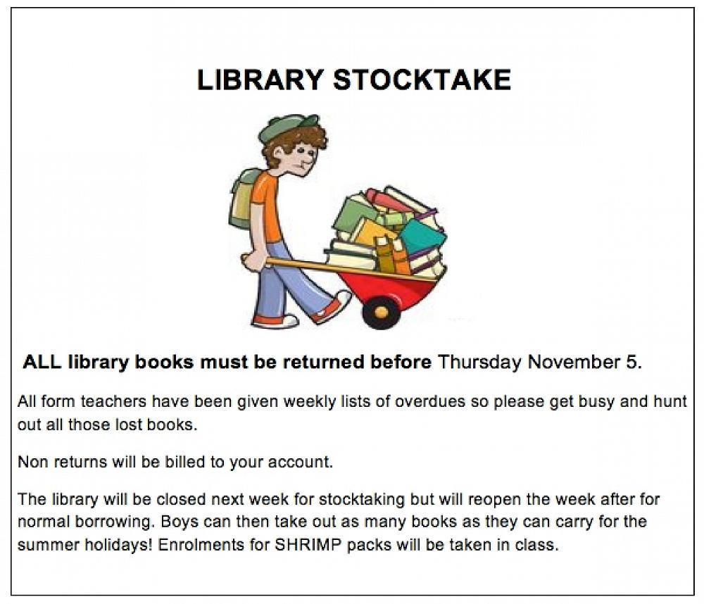 Library Stocktake