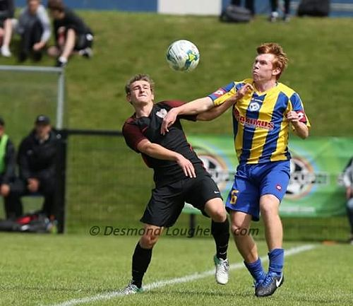 Tim O'Farrell Competes for the ball in the Super c