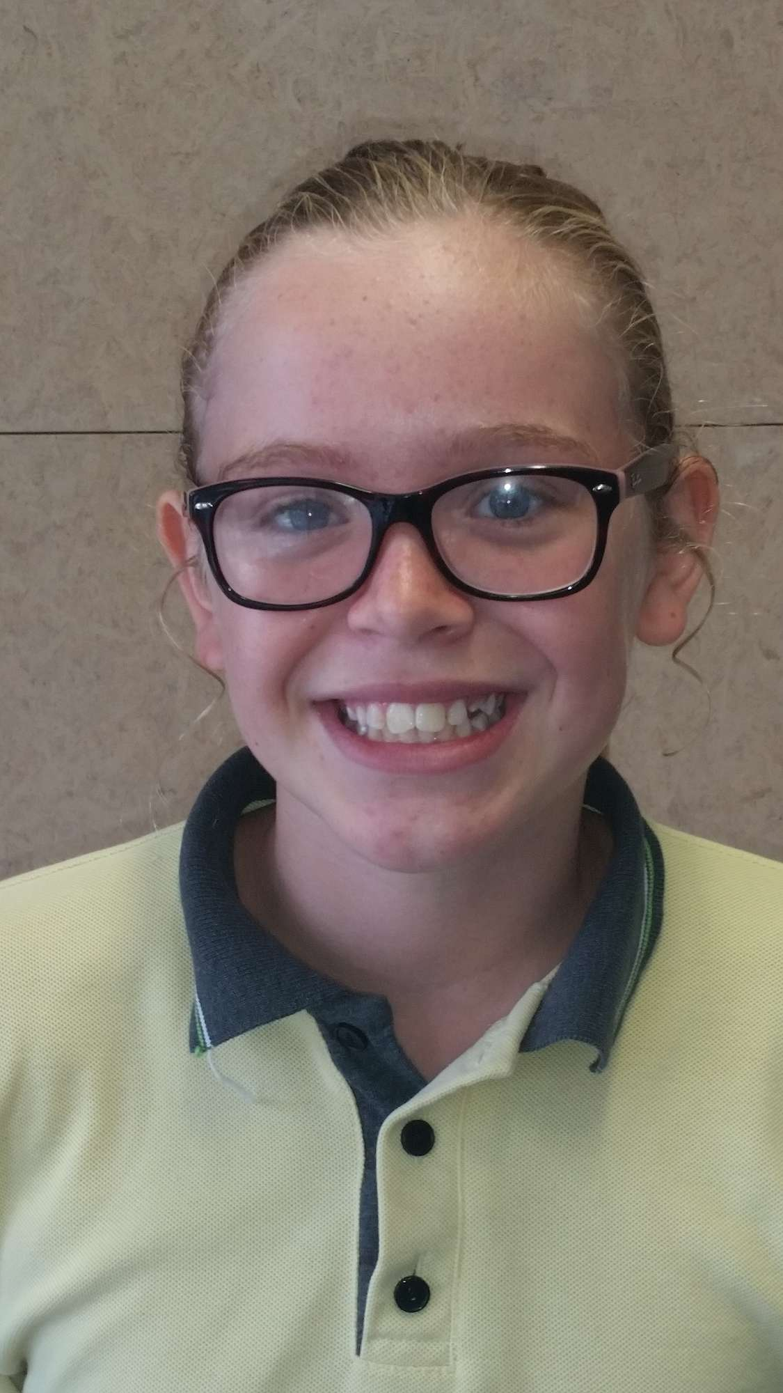 Phoebe Riddle, Tawa Swimming Club Champ for 10 year old girls