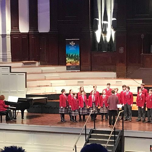 """The Big Sing - Kavanagh's Choir was awarded the """"Isabel Chetwin Cup"""" for the Most Improved Choir"""
