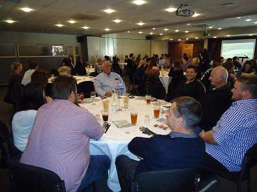 A great gathering to celebrate the Training and Development Awards