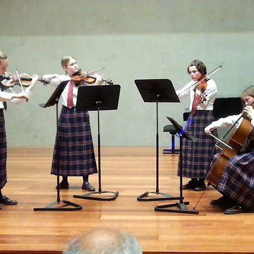 Video: CGHS String Quartet – Tutor Anne Clark