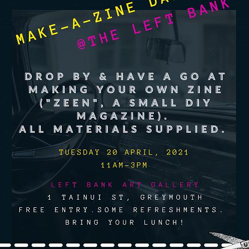 Make-a-Zine Day at Leftbank Gallery