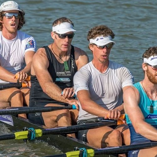 NZ Mens Quad Rowing 2018
