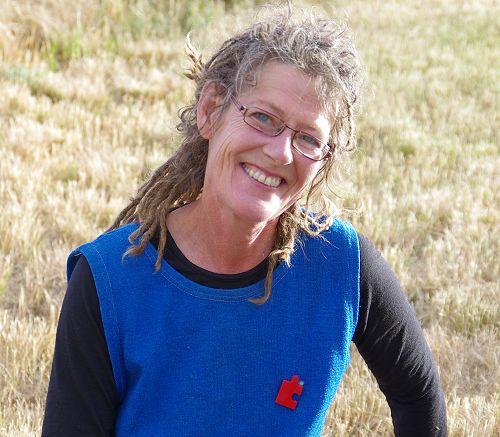 Fiona Eadie, head gardener at Larnach Castle gardens and author of 4 garden book titles.