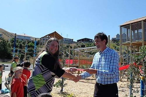 Lesley receiving $25,000 for playground fundingfro