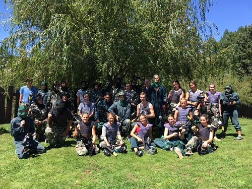Year 13 Camp - Paintball