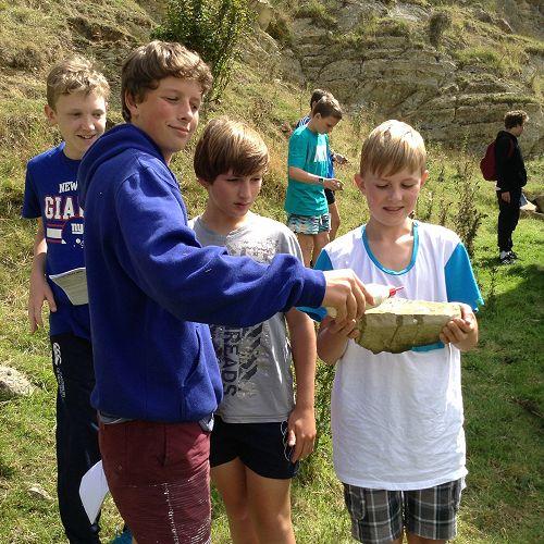 Lime Kilns.  Otago Peninsula.  Year 9 Science Field Trip.