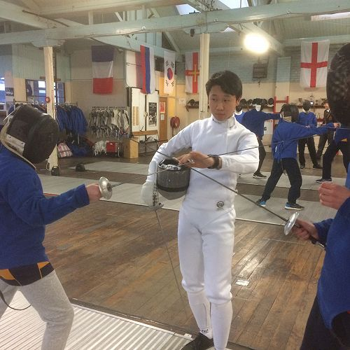 Fencing at McGlashan