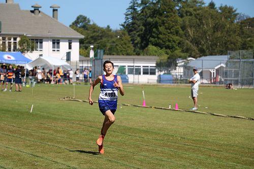 Josh Hou: Novice Cup winner. Novice 400m, 800m, 30