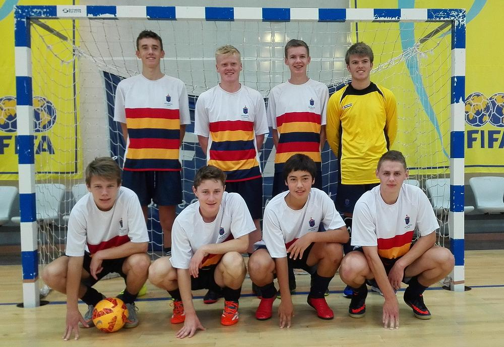 JMC Senior Futsal Team that competed in the NZSS National Futsal Tournament