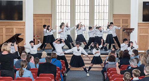 Ichikawa High School Farewell - Song & Dance Perfo