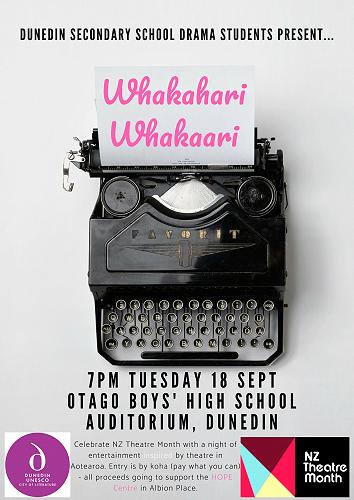 Whakahari Whakaari - Celebrate Drama