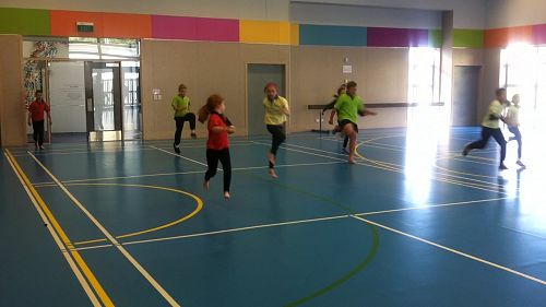 PE high stepping