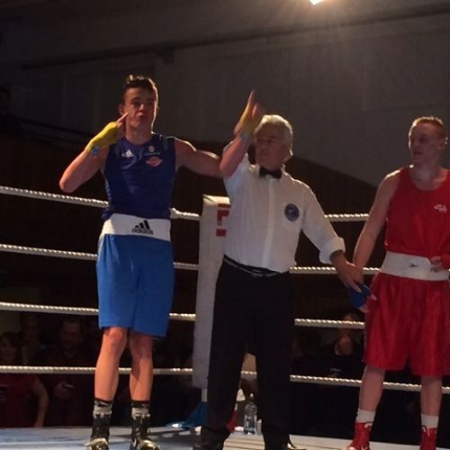 Alex Hanan defeats the New Zealand Youth Commonwealth Games representative, Keegan O'Kane-Jones