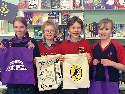 The Book Worms, the winners from Room 8