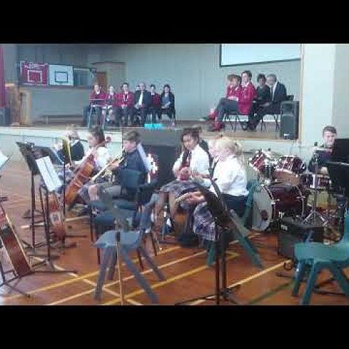 Video: Kavanagh Junior Band feat. Mr Pickles Jr