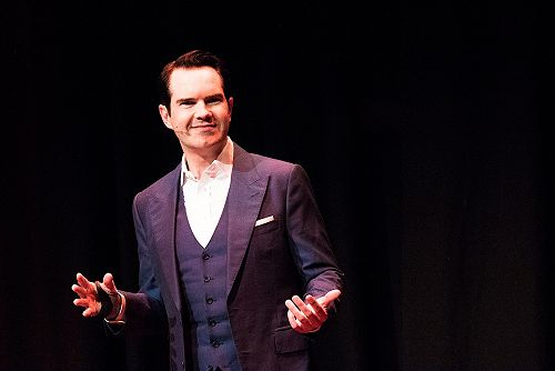 Jimmy Carr at the Dunedin Town Hall, 2018