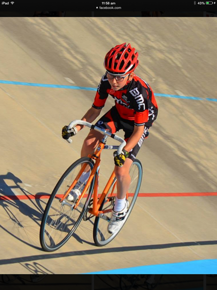 Flynn Cooper-Forster, track cycling