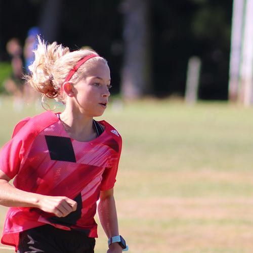 Record breaker Gemma Groenewald in the 800m