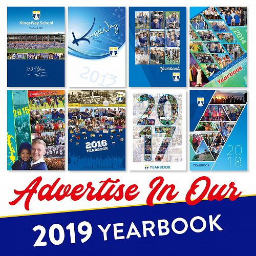 Yearbook advert 2019