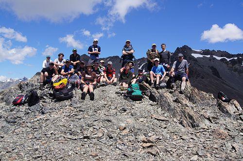 10NPA at the summit of Mt Mason