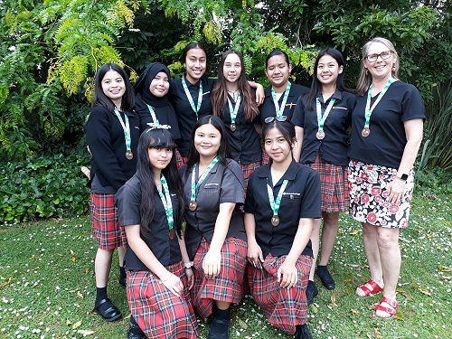 Junior Girls Volleyball team 2019