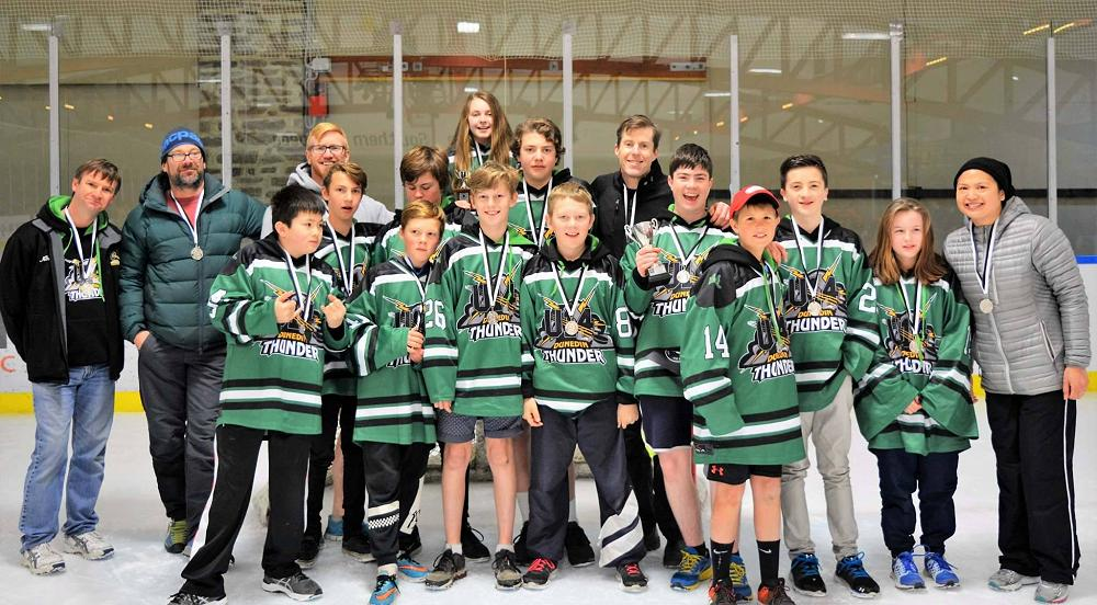 U14 Dunedin Thunder Ice Hockey Team