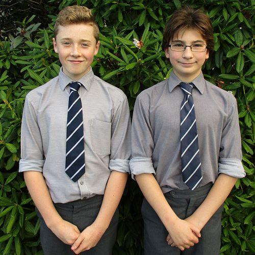 Theo Smith and Rohan Leckie-Zaharic