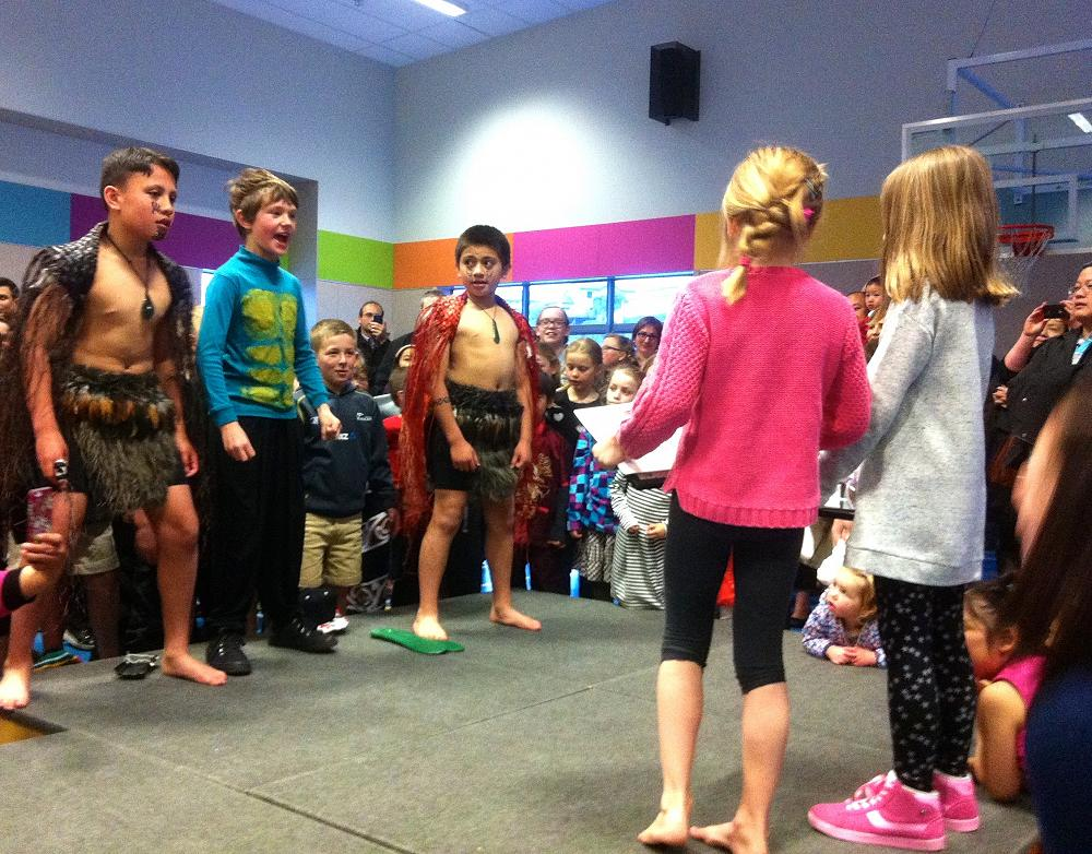 Haka to Neala and Matilda, the Term 3, Amesbury Awesomeness Award recipients