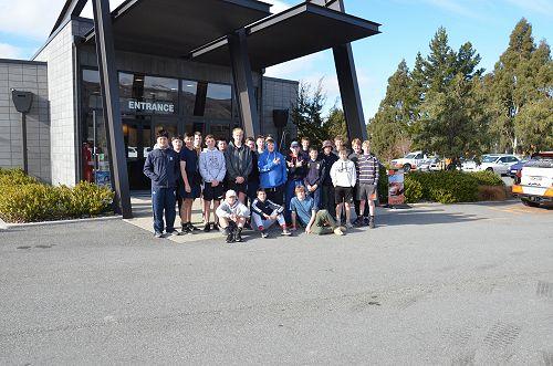 Under 14 Red Rugby Team Trip to Highlands Park