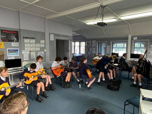 Year 9 Music class