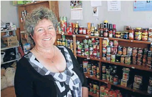 Michelle Kerr, Foodbank Coordinator