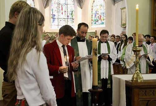 Service in All Saints