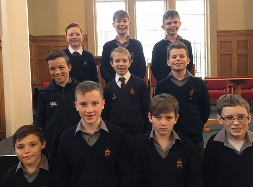 Year 7 and 8 Prepared Reading Finalists 2018