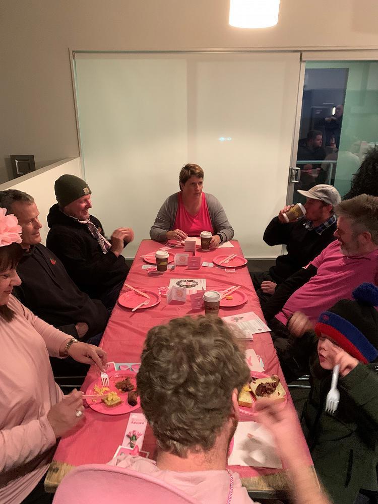 Pink Ribbon Breakfast Aotea Electric Cromwell