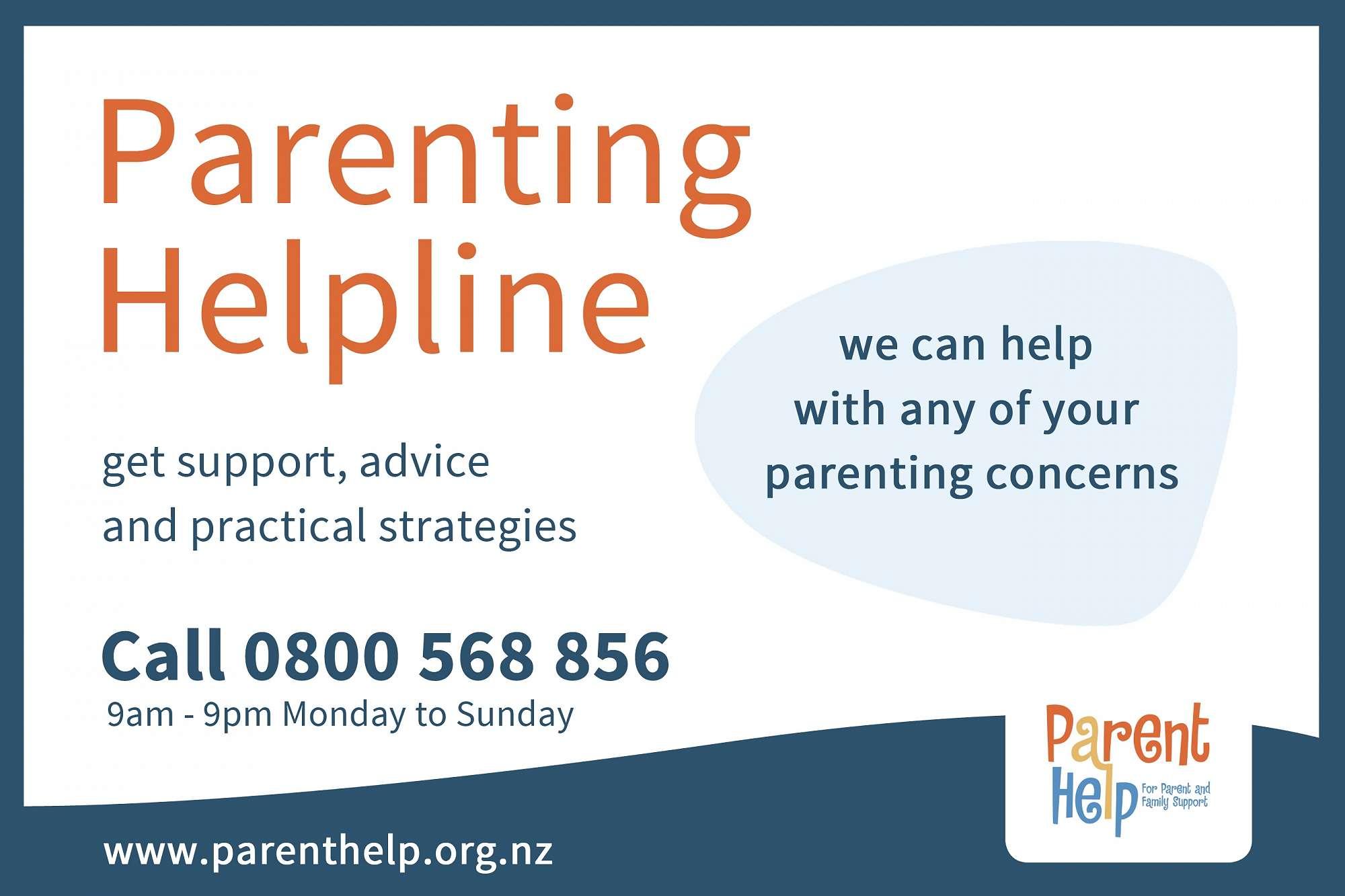 Practical Strategies For Parenting >> Parenting Helpline